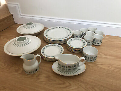 Royal Daulton Tapestry Dinner Set 24 Pieces For 6 People Vgc  China • 45.99£