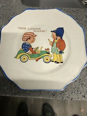 Vintage Nursery Your Licence Please Plate • 2.50£