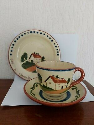 Watcombe Torquay Cup And Saucer And Side Plate   • 3.50£
