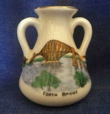 Arcadian Crested China. Forth Bridge. (BYK) • 4£