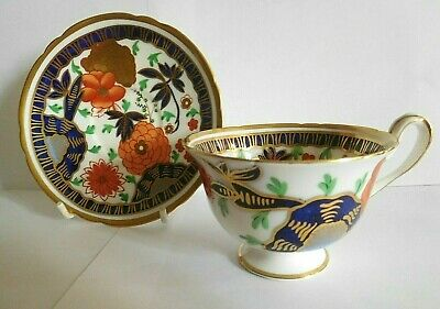 Vintage Shelley China Imari Tea Cup And Saucer Designed By Walter Crane • 45£