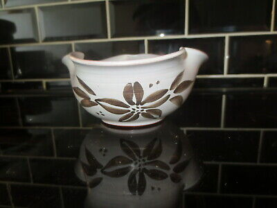 Holkham Pottery Bowl By Cyril Ruffles Studio Mid Century 1951 - 1961 Clover Leaf • 12.99£