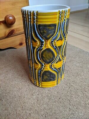 Poole Pottery Delphis Vase 84 By Angela Wyburgh • 85£