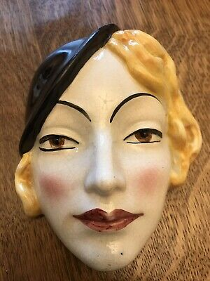 Art Deco Cope & Co Wall/Face Mask • 24.99£