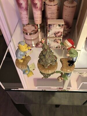 Royal Doulton Winnie The Pooh Christmas Collection , Set Of 3 • 75£