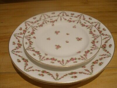 Antique Crescent, George Jones & Sons Dinner Plate And Side Plate VGC • 15£