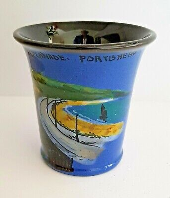 Portishead The Esplanade Wesuma T W Lemon Weston Super Mare Art Pottery Vase  • 24.99£