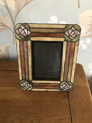 Vintage Stained Glass Photo Frame  • 12£