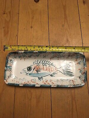 Devon Pottery Fish Tray / Dish • 0.99£