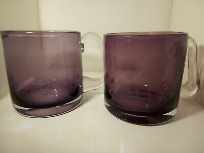 A Pair Of Silver Jubilee Glass Tankards , Designed By R S-wilson For Wedgwood • 25.99£
