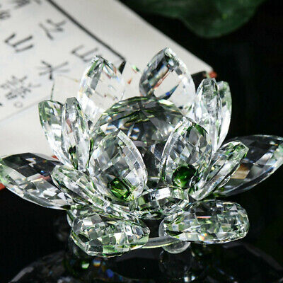 Large Multi Crystal Lotus Flower Ornament With Gift Box Crystocraft Home Decor • 5.49£