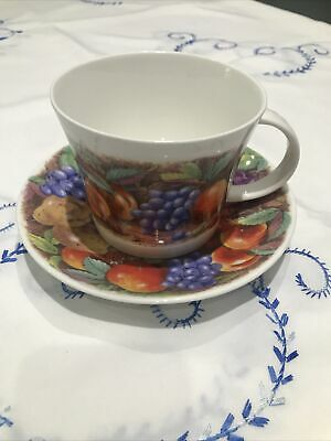 Roy Kirkham Breakfast Cup And Saucer, New • 11.95£