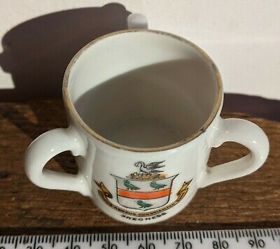 Crested Ware Gemma Ware Three Handled Cup Skegness • 8£