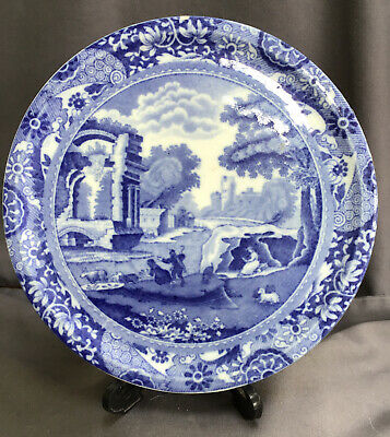 Vintage Copeland Spode ITALIAN Round Teapot Stand, Blue Stamp Approx 14.5cm Wide • 9.99£