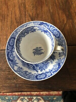 Spode Blue & White 19th Century Cup & Saucer  • 10.50£