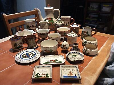 Large Amount Of Watcombe And Other Motto Ware Pottery • 19.99£