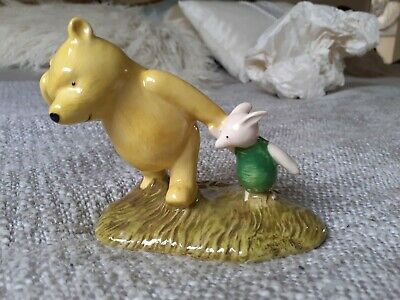 Royal Doulton 70th Anniversary Edition Winnie The Pooh And Piglet The Windy Day • 14.50£
