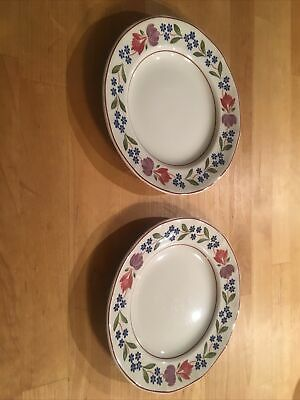 Adams Old Colonial Side Plates, Two • 4£