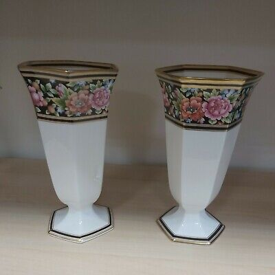 Lovely Pair Of Wedgewood Clio Vases  • 25£