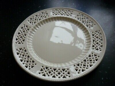 Cream Pierced Plate With Ridged Detail • 9.99£