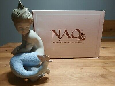 Nao Porcelain By Lladro 'Little Mermaid' #02001352 In Original Box • 94£