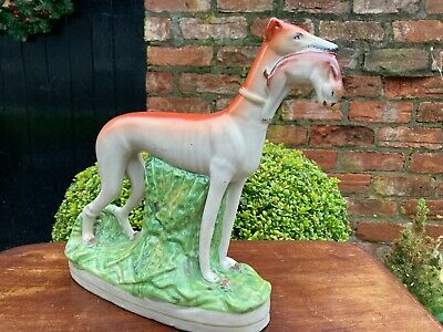 Stafffordshire Greyhound Dog • 22£