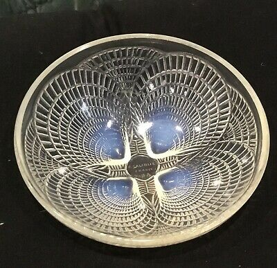 Rene Lalique Coquilles Opalescent Bowl • 295£