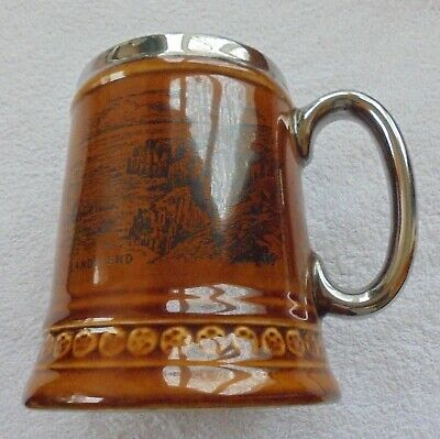 Lord Nelson Pottery 'lands End' Tankard Hand Crafted In England • 3.99£