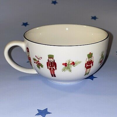 Laura Ashley Little Soldiers Christmas Teacup With Gold Effect Rim Never Used • 12.49£