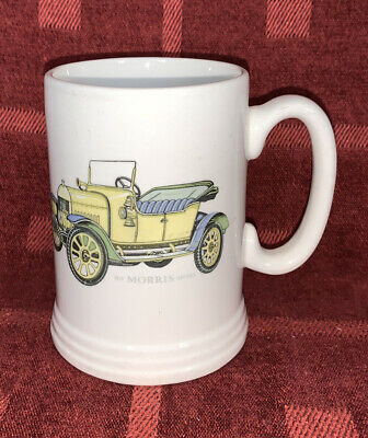"Lord Nelson Pottery Tankard, 1914 Morris Oxford 5"" Tall • 3.50£"