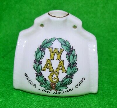 RARE W H GOSS WOMANS ARMY AUXILIARY CORP Military Crest • 63.20£