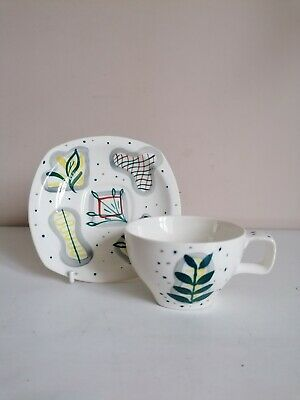 Retro Midwinter  Primavera  Coffee Cup & Saucer • 9.99£