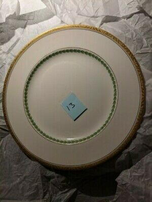 China Alfred Meakin Green And Gold Vintage Bone China 220mm Plate 13 • 4£