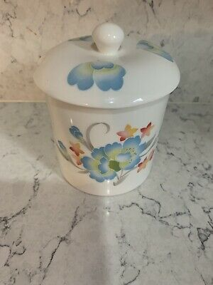 Crown Staffordshire Fine Bone China Jam Pot With Lid • 4.50£