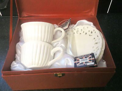 Queen Isabell Limited Collection 2 Tea Cup Saucer And Spoon • 15£