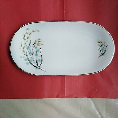 Swinnerton Staffordshire Made In England Serving Plate. Wheat Design • 8.99£