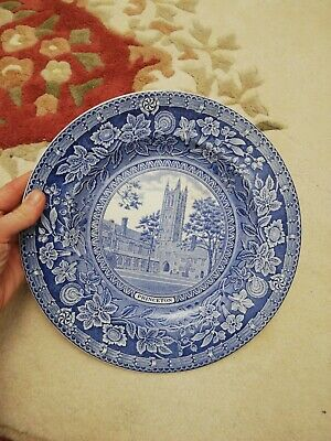 Princeton University 1930 Holder Court And Tower Plate Antique • 20£