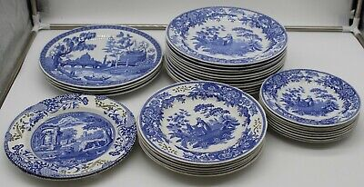 Large Bundle Of 'The Spode Blue Room Collection' Plates . NWKS3RG • 15.49£