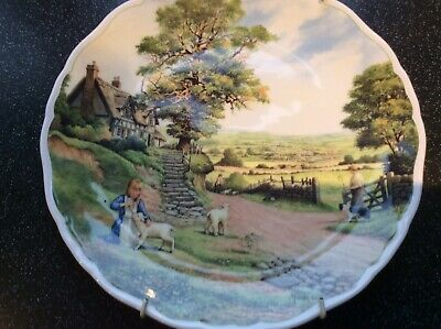 Royal Doulton Bone China Plate The Shepherd's Daughter  • 25£