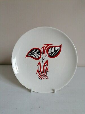 Retro Wade/Royal Victoria Pottery Abstract Leaf Tea/Side Plate  • 3.99£