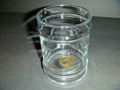 Vintage - Gentile Glass Inc. Star City, West Virginia - Artisan Etched Glass Cup • 11£