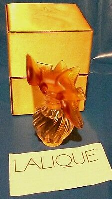 Lalique Crystal Amber Double Dove For Nina Ricci Perfume  • 195£