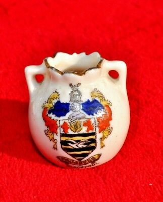'blackpool'  Crested China Miniature Two Handled Pot • 4.99£