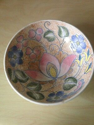 Midwinter Handcraft Fruit Bowl • 22£