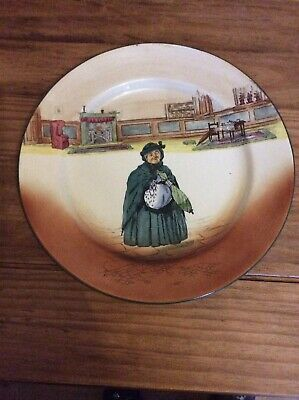 Royal Doulton Dickensw Ware Dinnerplate Sairey Camp • 20£