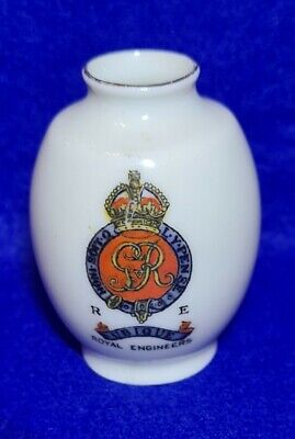 Arcadian Crested China ROYAL ENGINEERS  Military Crest. • 7.50£