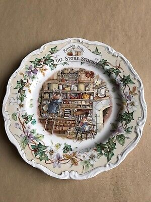 Royal Doulton Brambly Hedge The store Stump plate • 25£