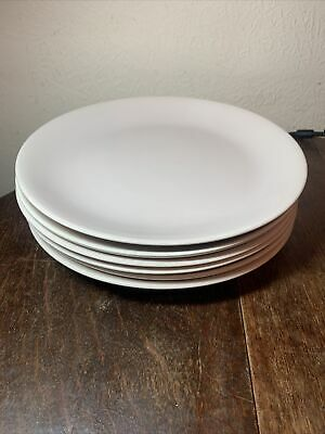 6 Poole Pottery Two Tone Dinner Plates • 15£