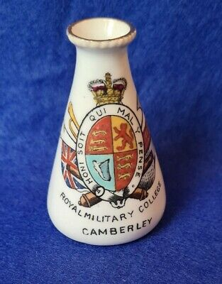 Crested China ROYAL MILITARY COLLEGE CAMBERLEY  • 3.50£