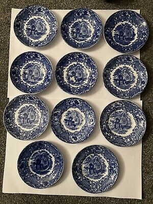 George Jones Abbey 1790 11 X Cups And Saucers Rare • 100£